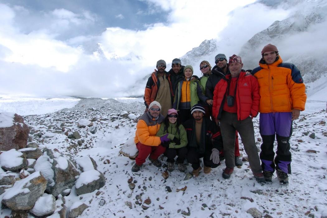Desafío conseguido: Campo base del Broad Peak (4.900 mts)