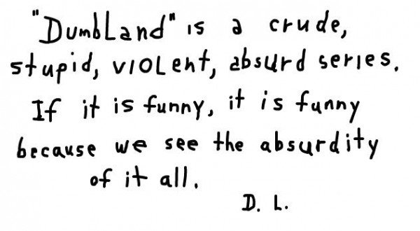 Dumbland by David Lynch