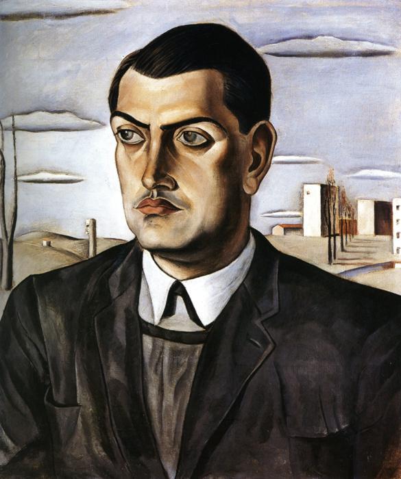 Luis Buñuel by Dali